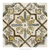 Non-Embellished Batik Square V Giclée-tryk af Chariklia Zarris