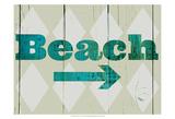 Sign - Beach Art by Amy Lighthall