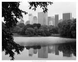 NYC Skyline X Giclee Print by Jeff Pica