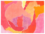 Cabbage Rose IV Giclee Print by Carolyn Roth