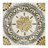Non-Embellished Batik Square VIII Giclee Print by Chariklia Zarris