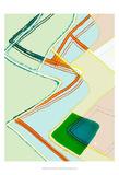 Wavy Pattern II Print by Amy Lighthall