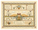 Garden Sampler I Giclee Print by Wendy Russell