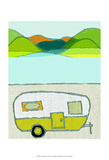Camping III Posters by Amy Lighthall