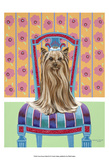 Crown Princess Yorkie Prints by Carolee Vitaletti