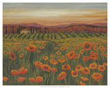 Poppy Path to Home II Giclee Print by Julie Joy
