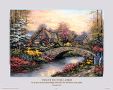 Trust in the Lord (Proverbs 3.5-6) Prints