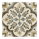 Non-Embellished Batik Square IX Giclee Print by Chariklia Zarris