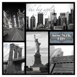 Snapshots of New York Giclee Print by Robert Mcclintock