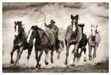 The Chase I Giclee Print by David Drost
