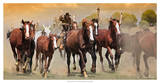 The Chase V Giclee Print by David Drost