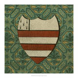 Noble Crest VIII Giclee Print by Vision Studio