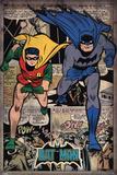 Batman - Comic Montage Kunstdrucke