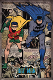 Batman - Comic Montage Affischer