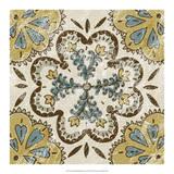 Non-Embellished Batik Square II Giclee Print by Chariklia Zarris