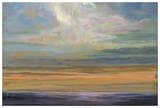 Distant Orange Light Giclee Print by Julie Joy