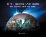 In the Beginning (Genesis 1.1) Photo