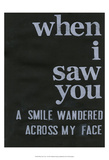 When I Saw You... II Prints by Deborah Velasquez