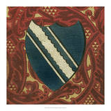 Noble Crest IX Giclee Print by Vision Studio