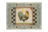 Proud Rooster I Prints by Wendy Russell
