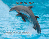 Leap of Joy (Luke 6.23) Prints