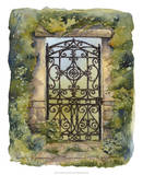 Iron Gate III Giclee Print by M. Wagner-Heaton