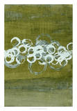 Green Orbs II Giclee Print by Charles McMullen