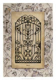 Ivy Gate I Giclee Print by M. Wagner-Heaton