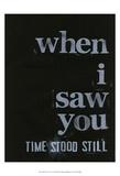 When I Saw You... IV Prints by Deborah Velasquez