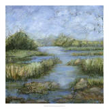 Marshland I Giclee Print by Beverly Crawford