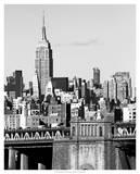 NYC Skyline II Giclee Print by Jeff Pica