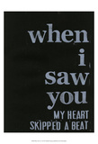 When I Saw You... III Print by Deborah Velasquez