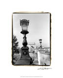 Chain Bridge over the Danube River Premium Giclee Print by Laura Denardo