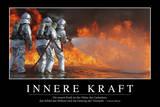 Innere Kraft: Motivationsposter Mit Inspirierendem Zitat Photographic Print