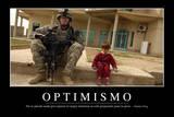 Optimismo. Cita Inspiradora Y Póster Motivacional Photographic Print
