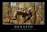 Reto. Cita Inspiradora Y Póster Motivacional Photographic Print