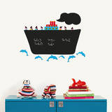 Cruise Liner Chalkboard Wall Decals Wall Decal