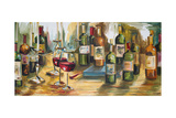 Wine Room Giclee Print by Heather A. French-Roussia