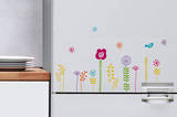 Flowers of Poucette Mini Window or Appliance Decal Stickers Window Decal