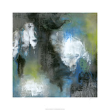 Peace of Mind in Blue II Premium Giclee Print by Ferdos Maleki