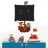 Pirates Chalkboard Wall Decals Wall Decal