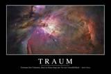 Traum: Motivationsposter Mit Inspirierendem Zitat Photographic Print
