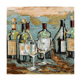Wine II Giclee Print by Heather A. French-Roussia