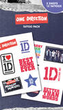 One Direction - Midnight Memories Tattoo Pack Falske tatoveringer