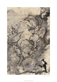 Tattooed Floral I Limited Edition by Jennifer Goldberger