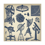 Astronomical Instruments Print