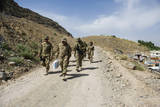 Members of the Kentucky National Guard in Arghandab, Afghanistan Photographic Print