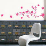 Pink Garland Mini Wall Decals Wall Decal
