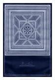 Indigo Tile V Giclee Print by  Vision Studio