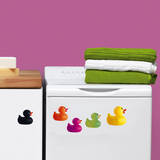 Ducks Color Mini Window or Appliance Decal Stickers Window Decal